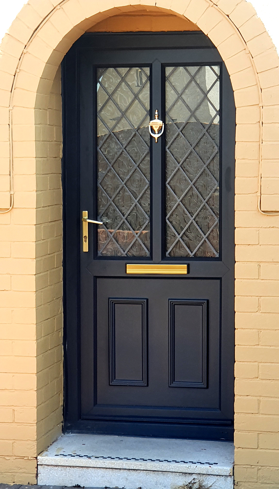 upvc-painted-door-south-wales